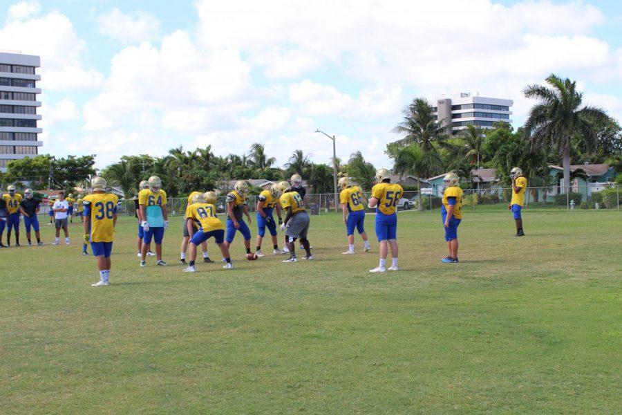 Crusaders Prepare for Football Season