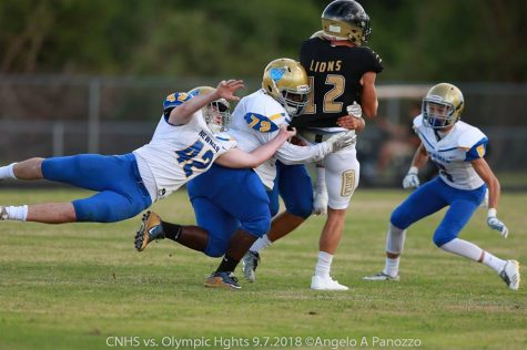 Crusader defense worked well all game to stop the Boca Lions.