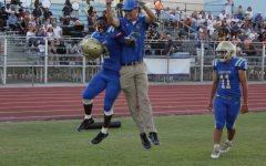 Enthusiasm Hits Crusaders Football