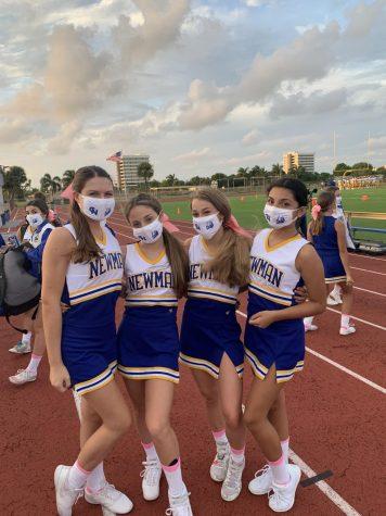 Cheerleaders @ Friday Nights Home Game