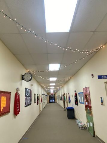 Hallway Decorations- House Competition (Christmas 2020)