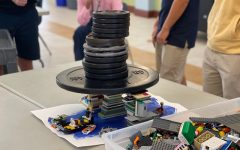 Stacking Weights On the LEGO Bridges