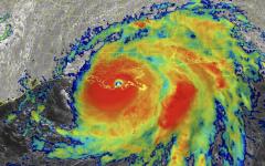 Hurricane Ida Strikes the Louisiana Coast on Anniversary of Hurricane Katrina
